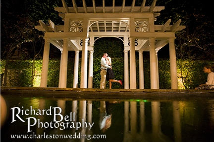 Another fun one of Renee and Derek from their rehearsal dinner at the William-Aiken House