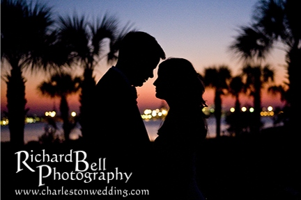 Gorgeous sunset, wonderful view, and a couple in love...what more can you ask for?